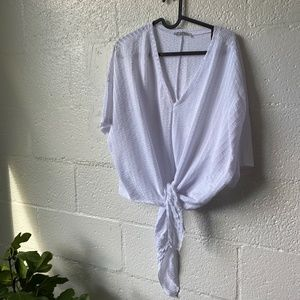 Self-tie Shirt